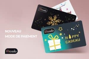 Comment payer avec une carte illicado sur Internet ?